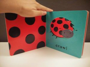 RJ's favorite page - the ladybug (or do you call it ladybird?)